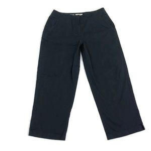 Tommy Bahama Women's Navy Blue Cropped Pants